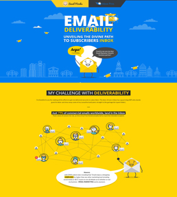 Email Deliverability - Infographic