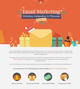 Holiday Email Marketing Calendar