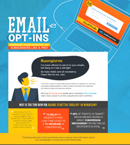 10 Opt-in Best Practices and Examples Infographic